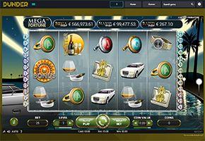 Dunder Casino Jackpots