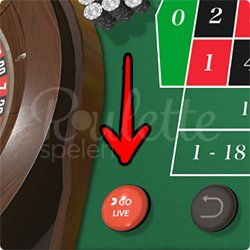 First Person Roulette Go Live Knop