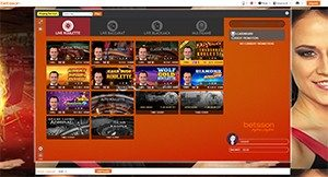 Betsson Extreme Live Gaming