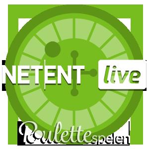 NetEnt Live roulette logo