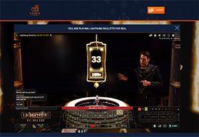 Oranje Casino Lightning Roulette