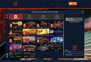 Oranje Casino Extreme Roulette