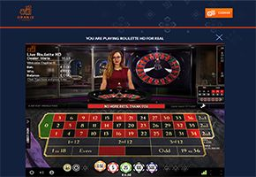 Oranje Casino NetEnt Roulette