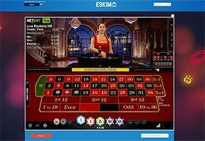 Eskimo live roulette pro