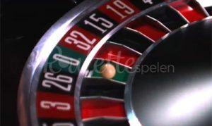 Roulette wiel 0