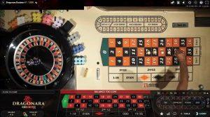 Dragonare Live roulette tafel